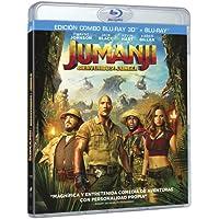 Jumanji: Bienvenidos A La Jungla (BD 3D + BD) [Blu-ray]
