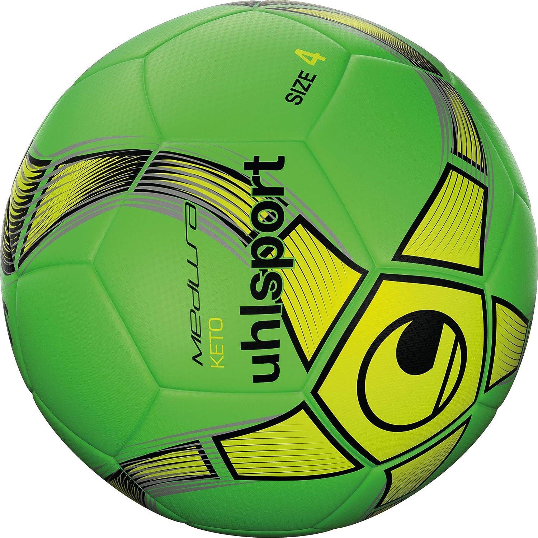 uhlsport Keto Balón fútbol, Adultos Unisex, Verde Fluor/Amarillo ...