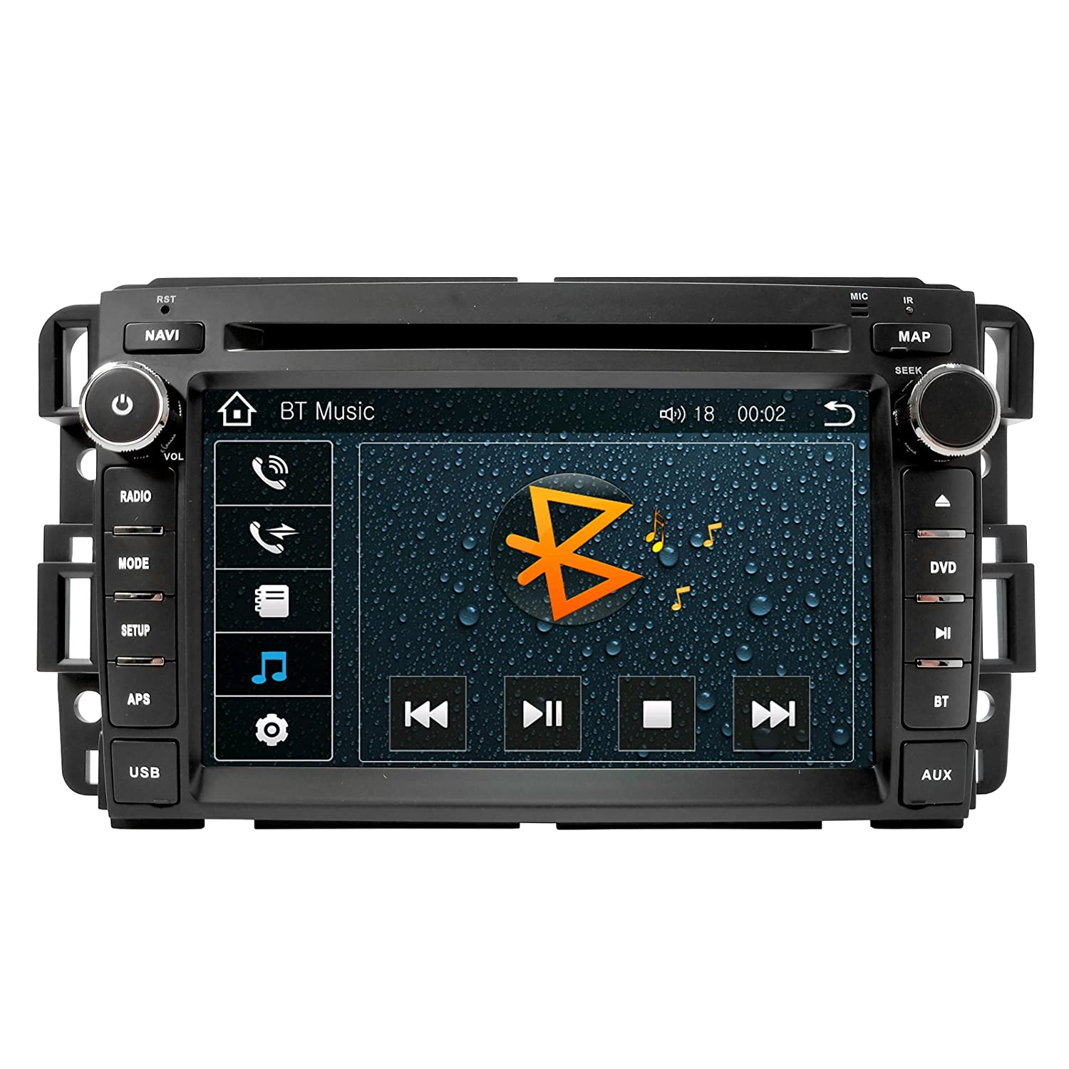 Chevrolet Silverado Bose 07 12 Oem Replacement In Dash 2008 Avalanche Ac Blower Wiring Diagram Double Din Touch Screen Gps Navigation Radio 2007 2010