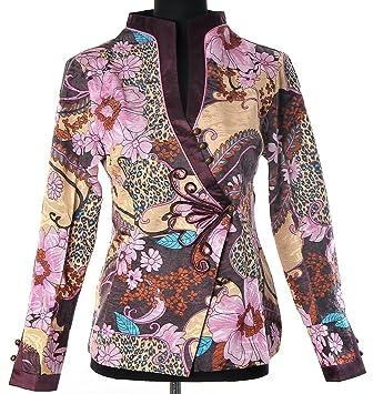 De Blouson Femmes Asiatique Chinoise Style Veste Shanghai Tone® TwOZTv