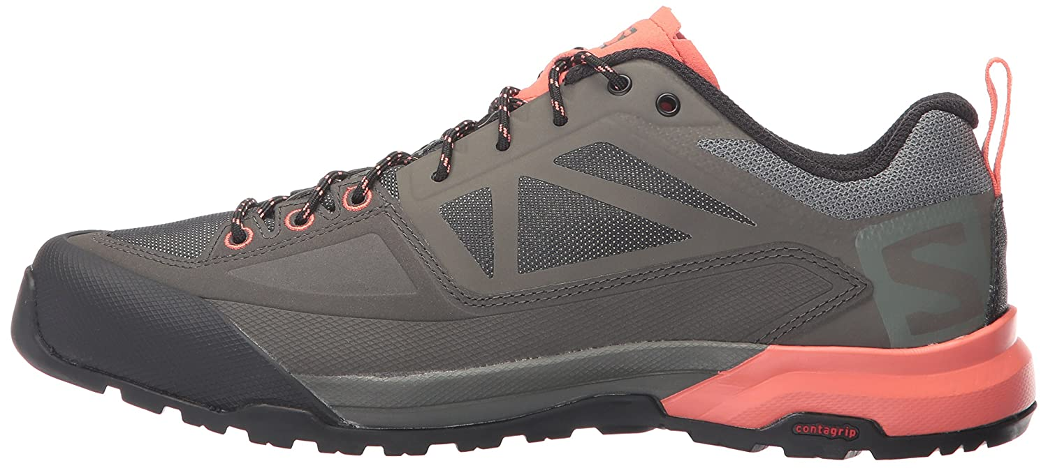 Salomon Women's X Alp Spry W Mountaineering US|Castor Boot B01N1J0T3X 7 B(M) US|Castor Mountaineering Gray/Beluga/Living Coral 7ee4e8