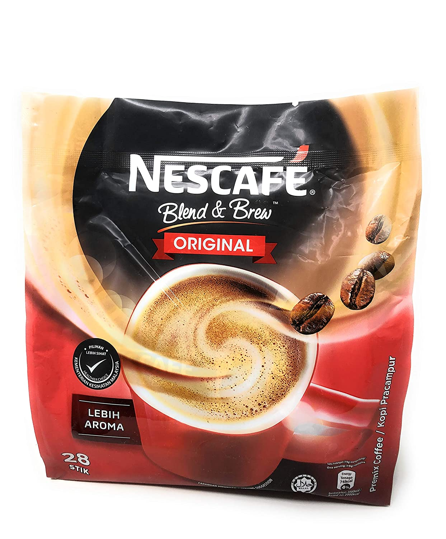 f336e6a5b88 Amazon.com : Nescafé 3 in 1 Instant Coffee Sticks ORIGINAL - Best Asian  Coffee Imported from Nestle Malaysia (28 Sticks) : Grocery & Gourmet Food