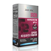 Zade Vital Iron Supplement for Immune System, Energy and Red Blood Cell Production...