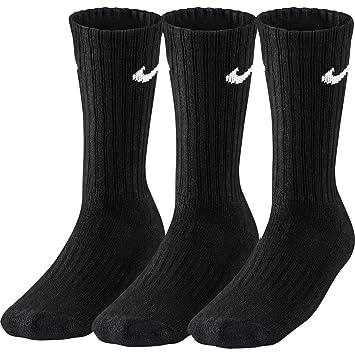Nike 12 Pares de Calcetines Sport Calcetines tamaño m (38 - 42) Negro Ventaja Pack: Amazon.es: Deportes y aire libre