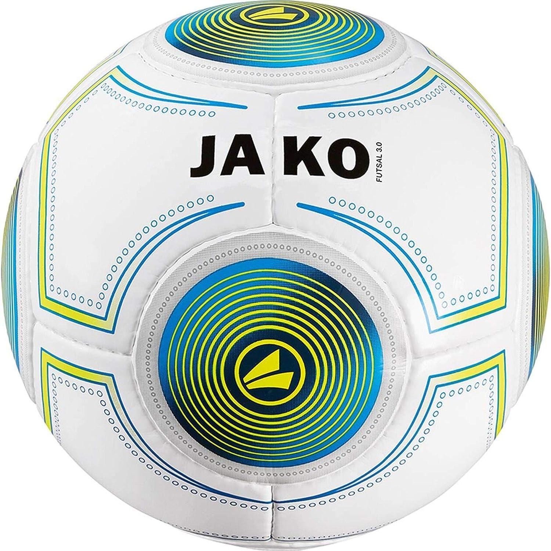 Jako Futsal 3.0 Indoor Balón, Color Blanco/Azul/Verde, 4: Amazon ...