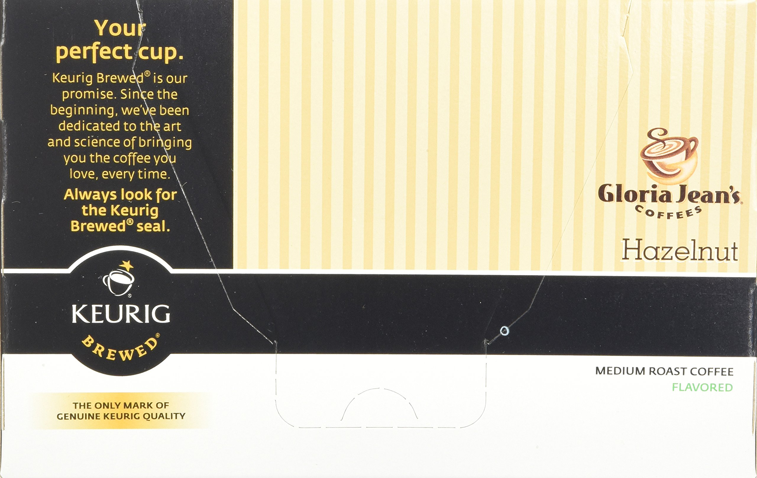 Green Mountain Coffee Roasters Gourmet Single Cup Coffee Hazelnut Gloria Jean's Coffee 12 K-Cups by Green Mountain Coffee Roasters (Image #6)