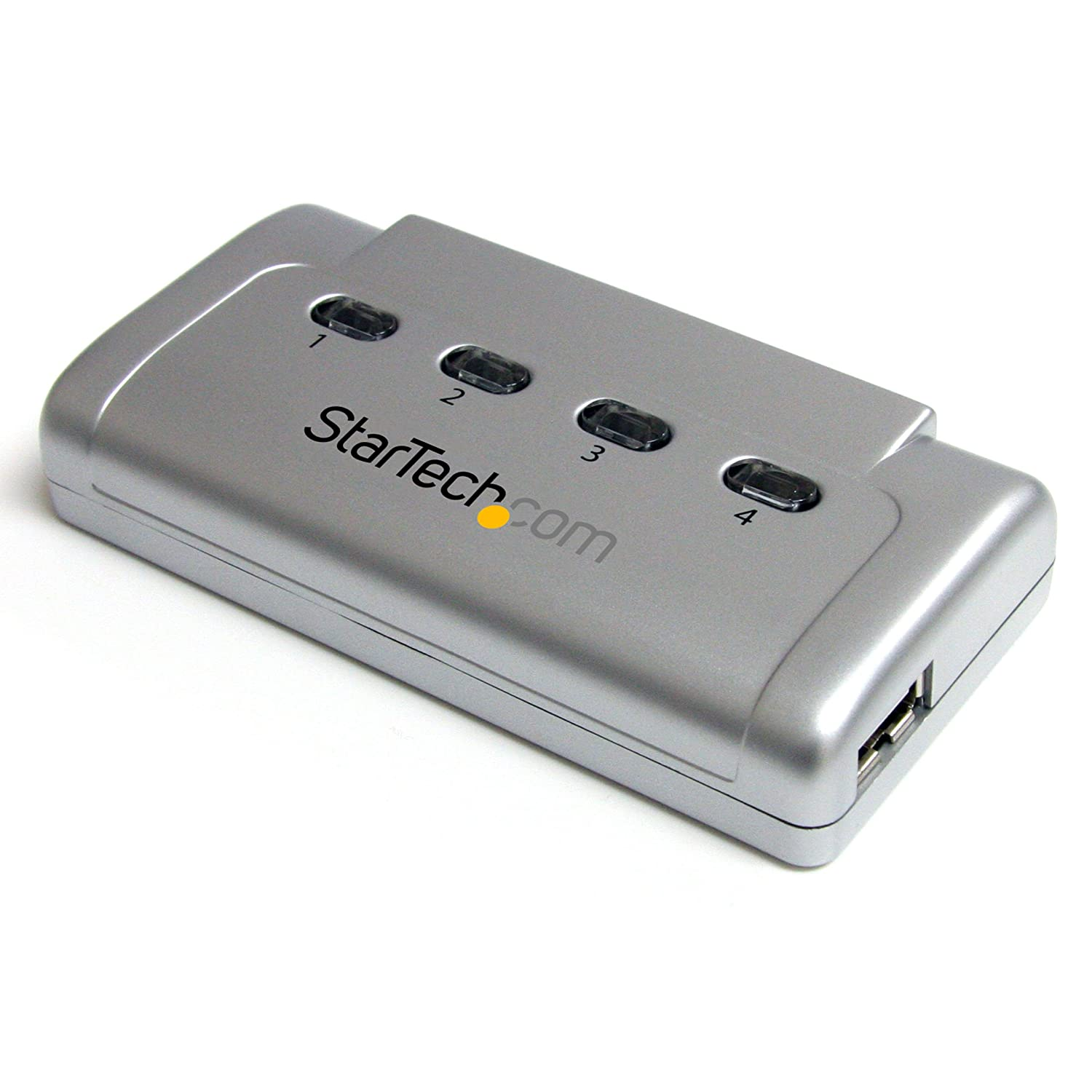 StarTech.com USB421HS 4 to 1 USB 2.0 Peripheral Sharing Switch Switching Devices