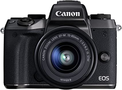 Canon EOS M5 + EF-M 15-45mm IS STM + EF-EOS M Adapter