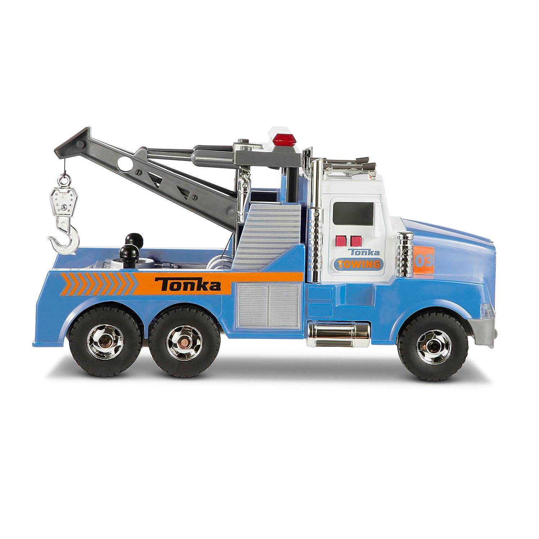 Tonka Mighty Motorized Tow Truck Toy Vehicle