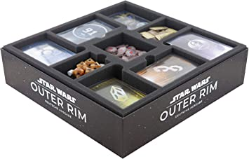 Feldherr Juego de Espuma Compatible con Star Wars: Outer Rim - Caja de Juego de Mesa: Amazon.es: Juguetes y juegos