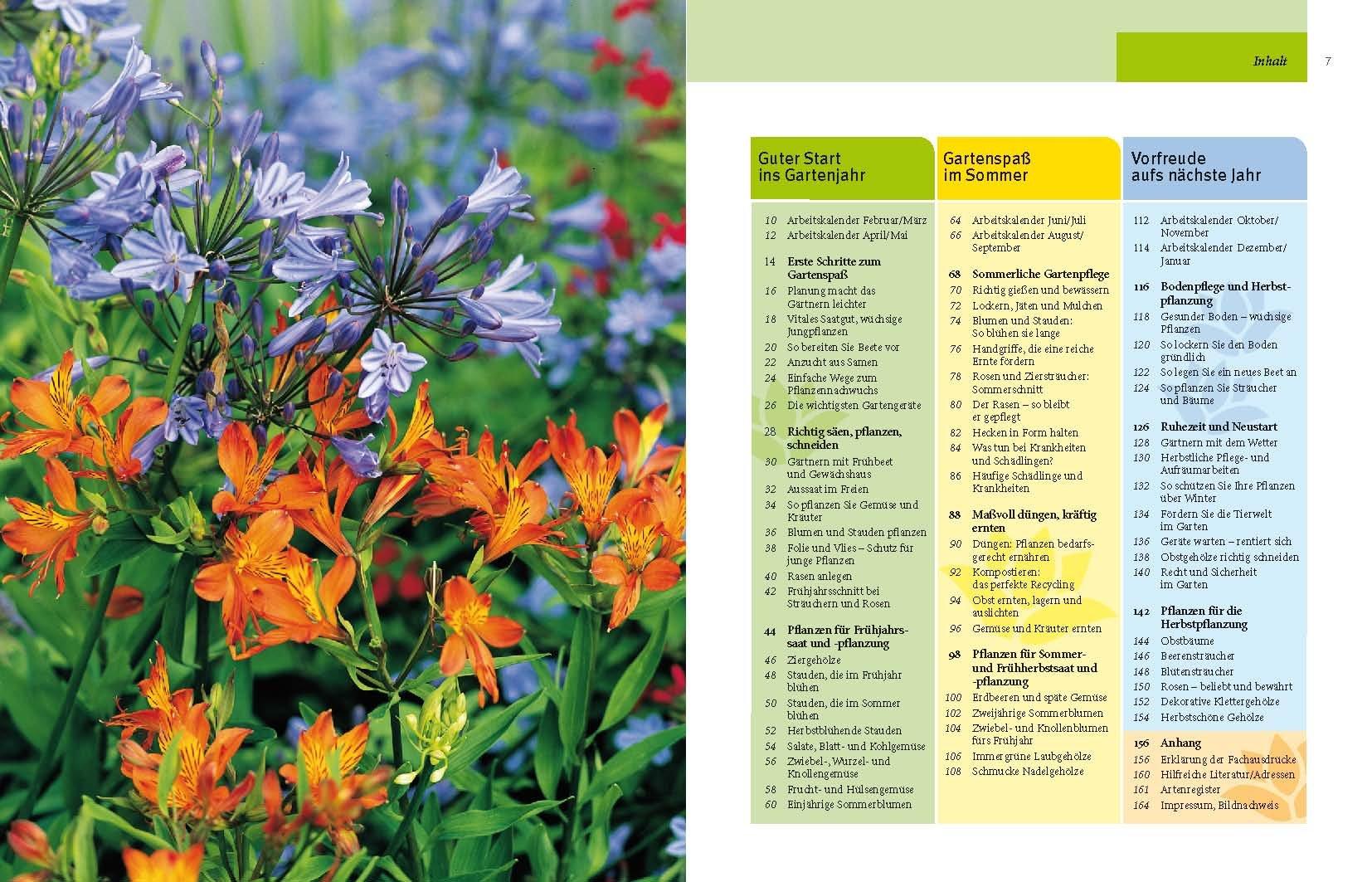 Gartenjahr für Einsteiger: Schritt für Schritt zum grünen Paradies ...