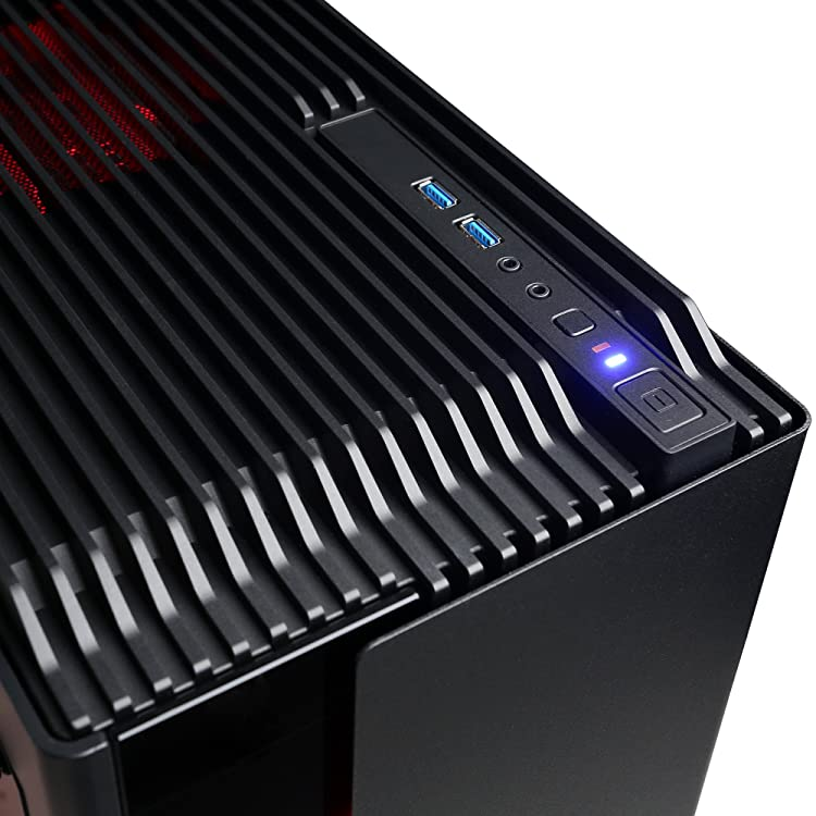 CYBERPOWERPC GXiVR8200A Gaming PC-Connectivity: 6 x USB 3.1 | 2 x USB 2.0