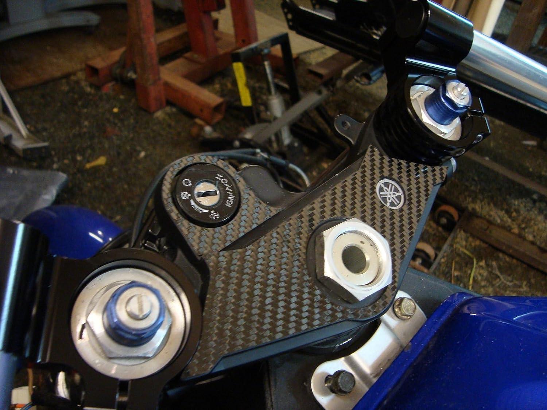 motorcycle /Φ 33mm Clip ons Handlebar Fit for Honda Rebel CMX250 CB400 CM400 CX500 Kawasaki KZ400 Suzuki GS250 GS300 GS400 Yamaha SRX250 XV250 XS400 Universal cafe Racer Tilt Angle 8/° 7//8 bars Black