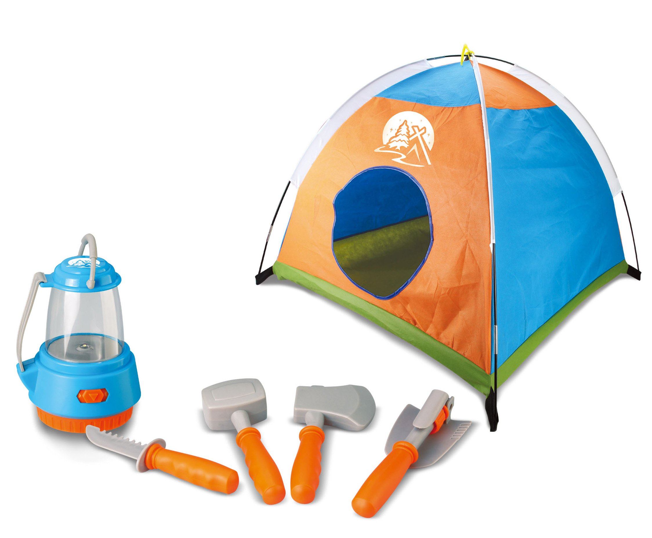 Berry Toys Little Explorer Camping Play Set with Tent (5-Piece)