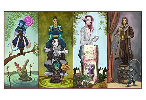 Amazon Com Haunted Nein With Caduceus Critical Role Fan Art Print 13x19 Dnd Mighty Nein Handmade If you'd like to submit your art for the gallery on our site or for the art sizzle reel that plays before critical role (and. print 13x19 dnd mighty nein handmade