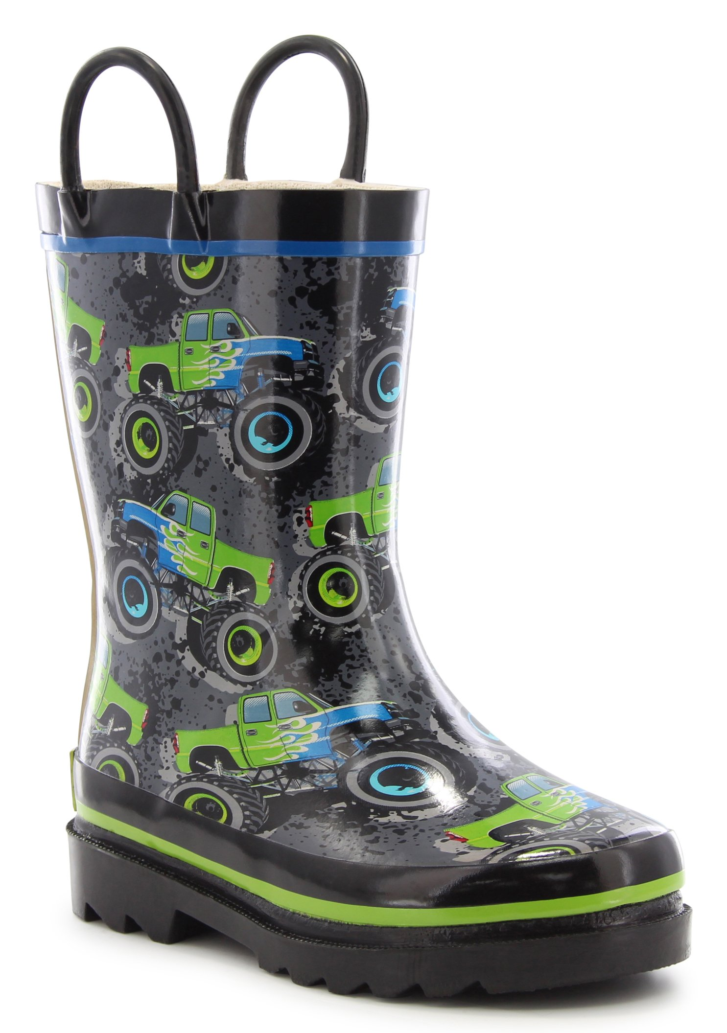 Western Chief Kids Crusher Rain Boot Grey 13