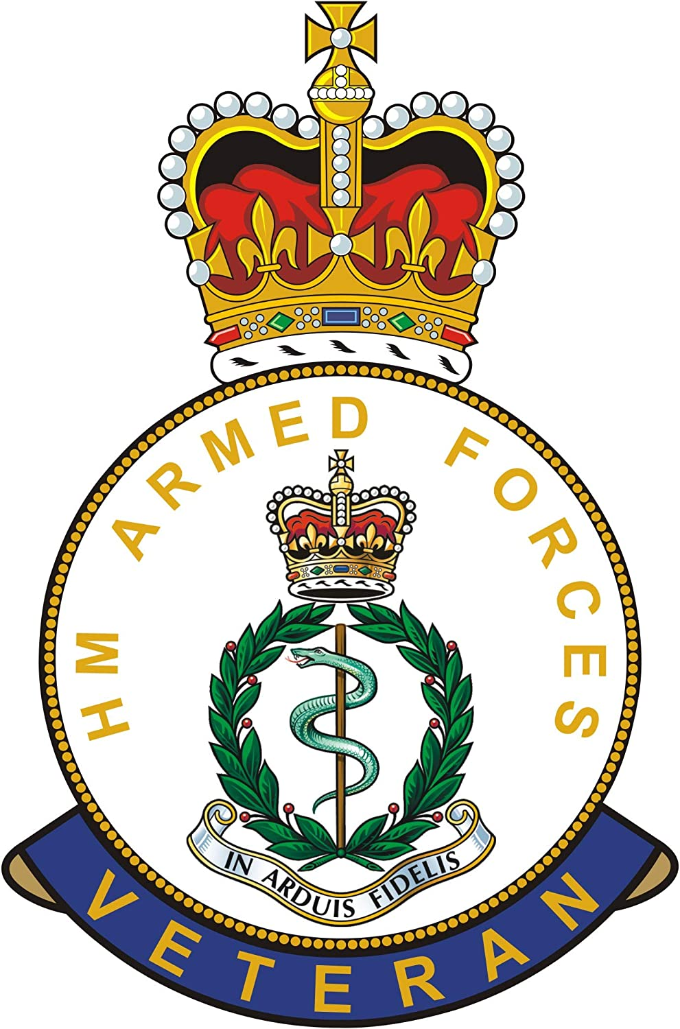RAMC car// bike stickers RAMC car// bike stickers Royal Army Medical Corps Badge