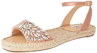 c2717c6739b2 Badgley Mischka Women s Satine Flat Sandal
