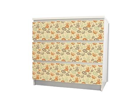 Yourdea mobili cassetto sticker per ikea malm cassettiera mobili
