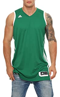 the latest d3606 957d1 adidas ClimaCool Jersey Basketball Jersey E Kit White or Green S – 4XT New