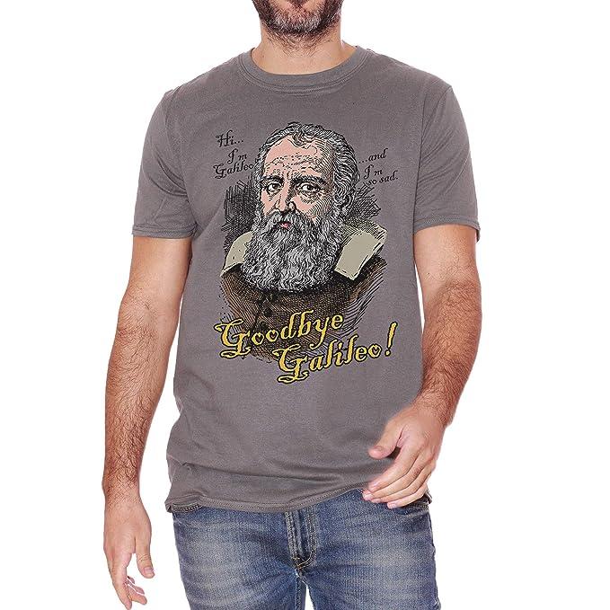 d9255eedb T-Shirt Terra Piatta Terrapiattismo Galileo Galilei Triste Flat Earth -  Social Choose ur Color: Amazon.it: Abbigliamento