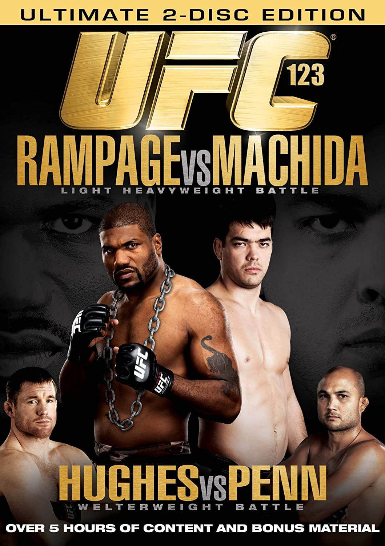 Amazon Com Ufc 123 Rampage Vs Machida Quinton Jackson Lyoto