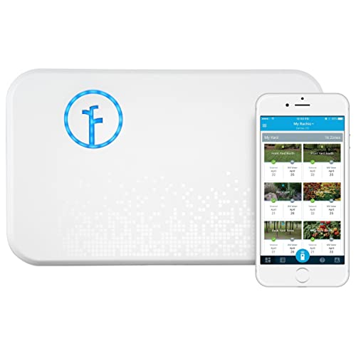 Rachio Smart Sprinkler Controller, WiFi, 8 Zone 2nd Generation, Works with Amazon Alexa