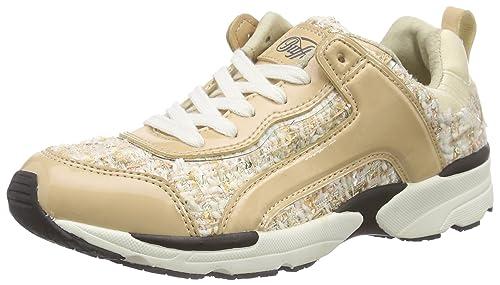 BUFFALO 100-14 Mesh Patent PU - Zapatillas Mujer: Amazon.es: Zapatos y complementos