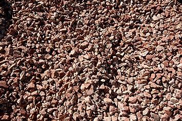 Gravilla Roja jardin (Big bag de 1.000 kg.) (6-12 mm.): Amazon.es: Jardín