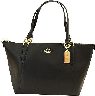 13f64278a5f Amazon.com  AVA Tote in Crossgrain Leather in Black  350.00  Shoes