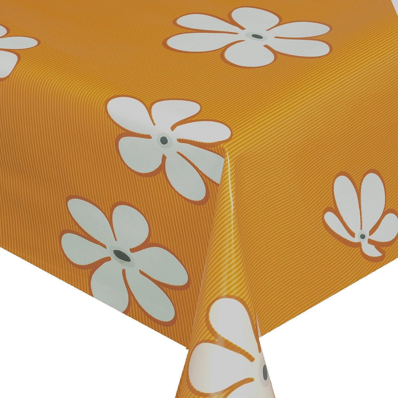 Ancho 120 cm Longitud a Elegir – Flower Power Naranja Classic ...
