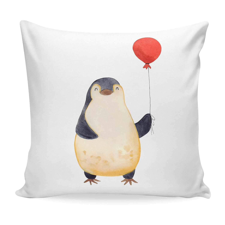 /& Mrs Mr Panda 40x40 Kissen Pinguin umarmend