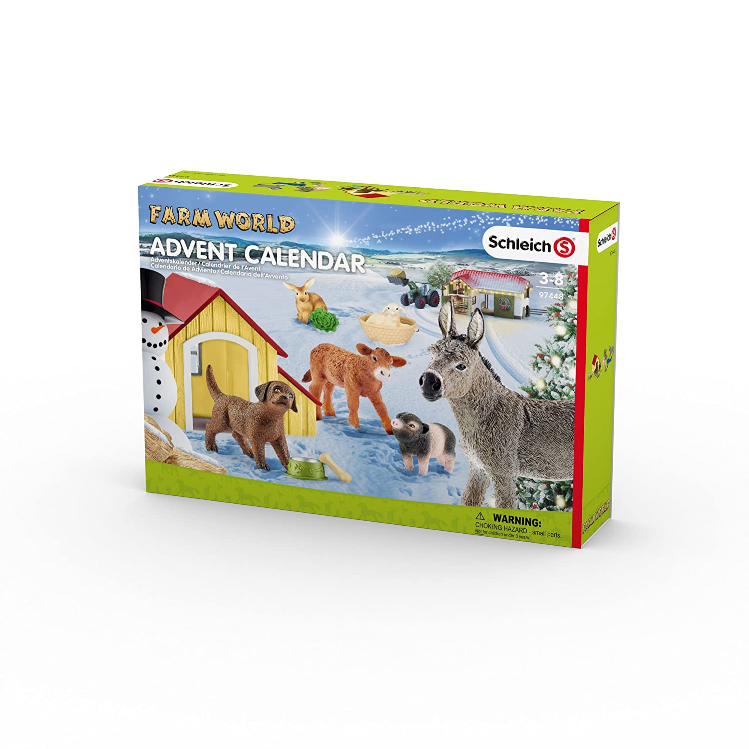 Schleich 97448 - Adventskalender Farm World 2017
