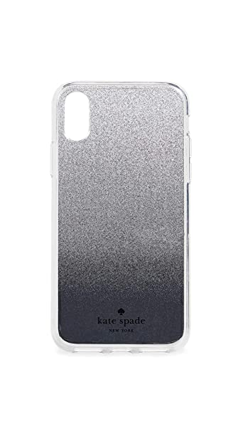 best sneakers 31254 1be51 Kate Spade New York Mirror Ombre iPhone X/XS Case, Silver, One Size