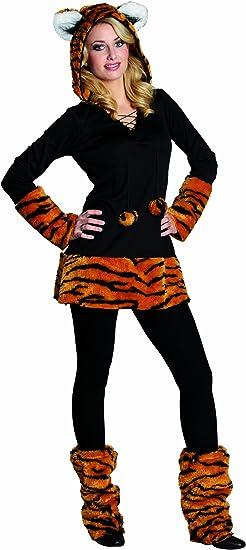Rubies 13706- Disfraz de Tigre para mujer, Disfraz para carnaval ...
