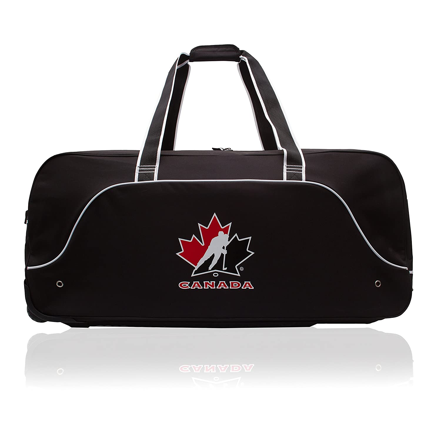 Hockey Canada 36 Wheeled Hockey Equipment Bag G0580_HC_BLK