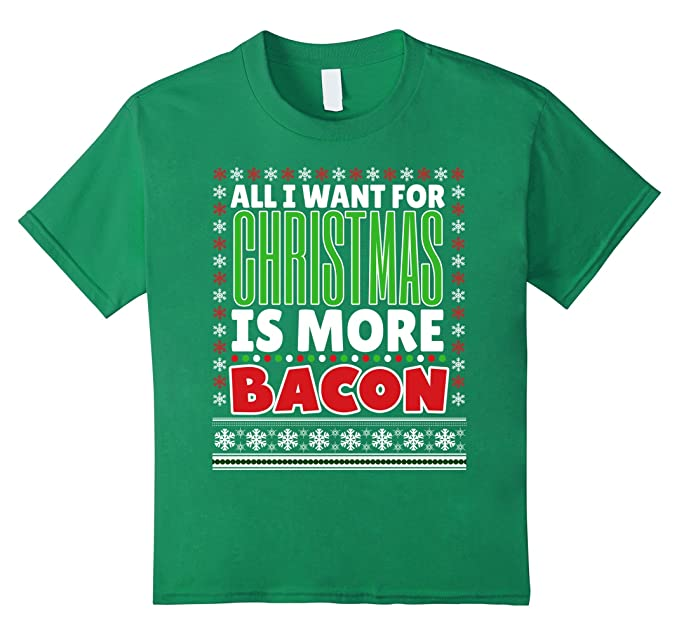 Bacon Ugly Sweater T-Shirt