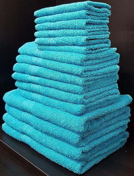 100% toallas de algodón egipcio Bale – Juego de 10 toallas – 500 g/