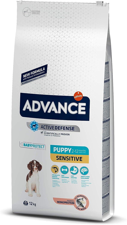 Advance Sensitive Puppy - Pienso para Cachorros con Sensibilidades Digestivas y en la Piel - 12Kg