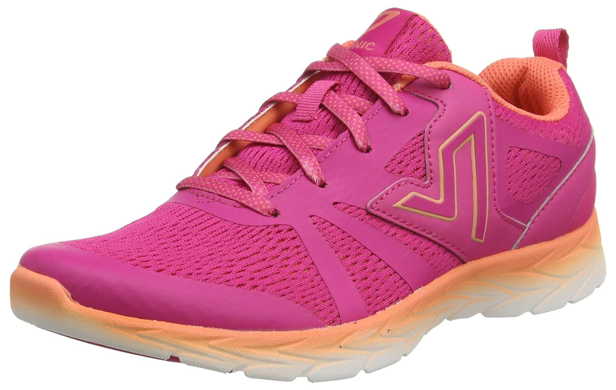 Vionic with Orthaheel Technology Women's Miles Pink/Orange Synthetic/Mesh 8 Medium