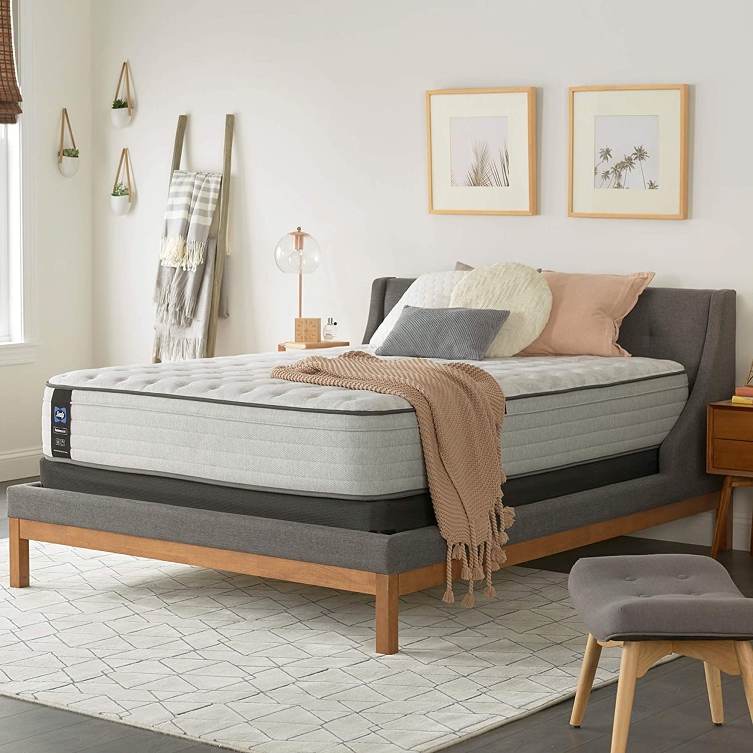 """Best overall: Sealy Posturepedic (13"""" Eurotop Firm Feel Mattress)"""