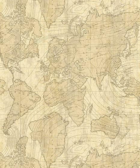 Crown luxe voyager map glitter wallpaper parchment and gold m1133 crown luxe voyager map glitter wallpaper parchment and gold m1133 gumiabroncs Image collections