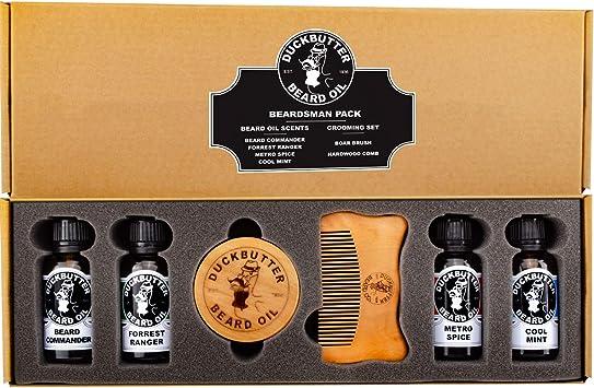 DUCKBUTTER Aceite Para Barba de Duck Butter - Paquete Beardsman ...