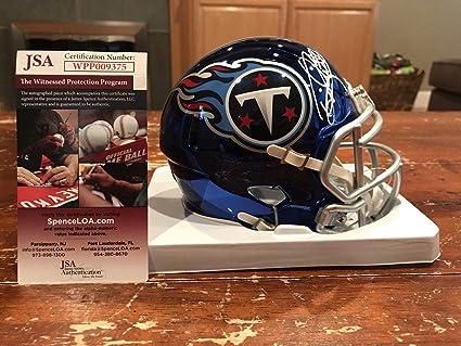 Derrick Henry Autographed Mini Helmet - Chrome Witness JSA   GTSM - GTSM  Certified - Autographed 26254f604