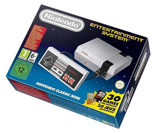 Nintendo NES - Consola Classic Mini: Nintendo: Amazon.es ...