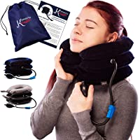 Pinched Nerve Neck Stretcher Cervical Traction Device for Home Pain Treatment |...