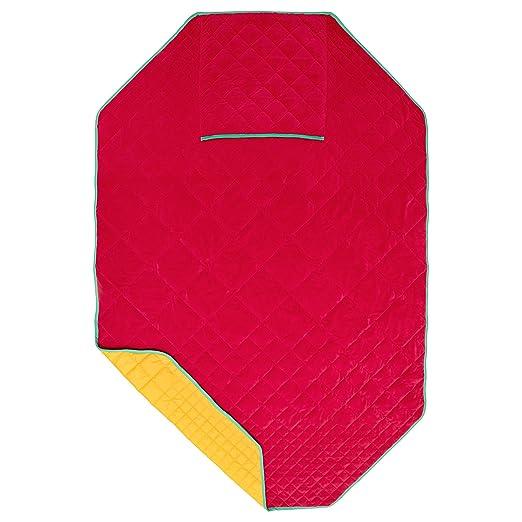 IKEA PS 2017 - Manta con funda para cojín rojo/amarillo ...