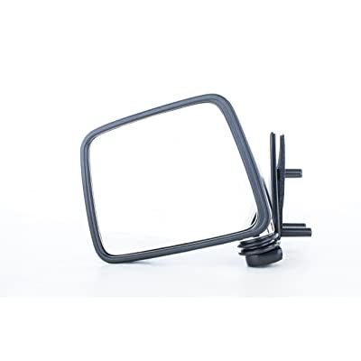 Dependable Direct Left Side Chrome Mirror for 87-95 Nissan Pathfinder, Pickup: Automotive