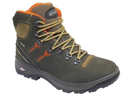 16d27bff055 Grisport Trail Walker Quality Mens Walking Boots in Khaki  Amazon.co ...