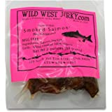 BEST Fresh Wild Caught King Smoked Salmon Squaw Candy Savory Deliciousness 2 OZ. Jerky – Natural Flavoring - Buy Multiple Packs and Save! (Smoked Salmon, Smoked Salmon 1 Pack)